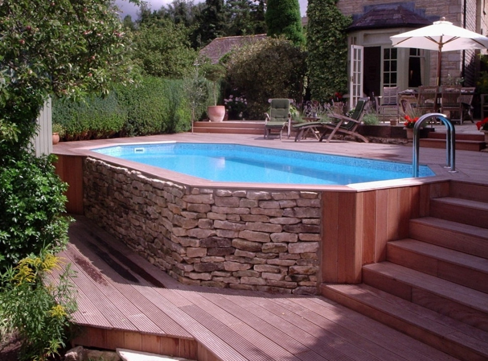 Best ideas about Saltwater Above Ground Pool . Save or Pin Ground Saltwater Swimming Pools Now.