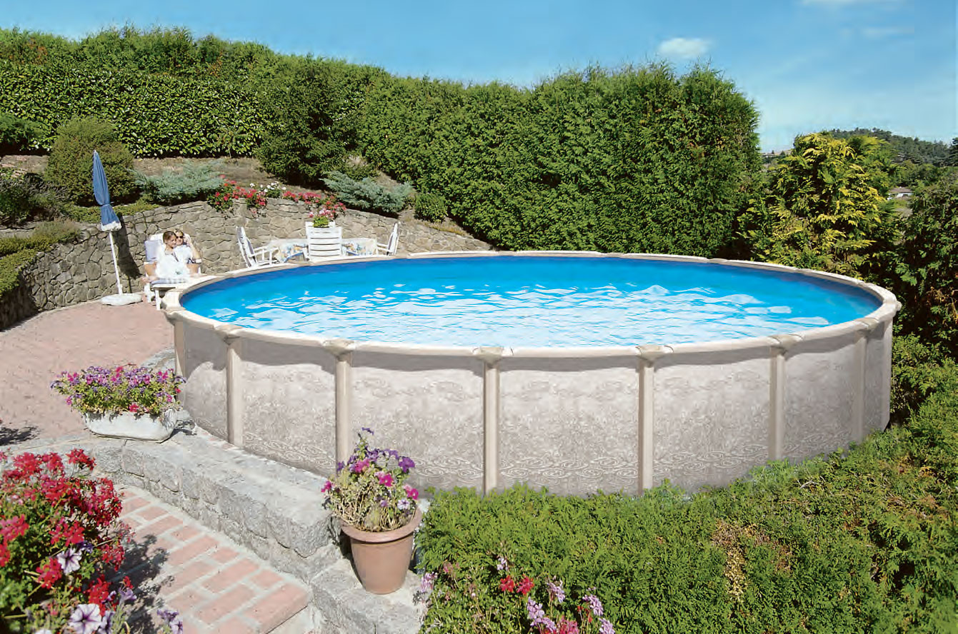 Best ideas about Saltwater Above Ground Pool . Save or Pin Saltwater Magnus Ground Pool Now.