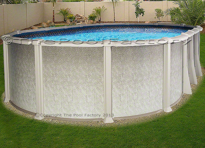Best ideas about Saltwater Above Ground Pool . Save or Pin 12x20 Oval Saltwater 8000 Ground Salt Swimming Pool Now.