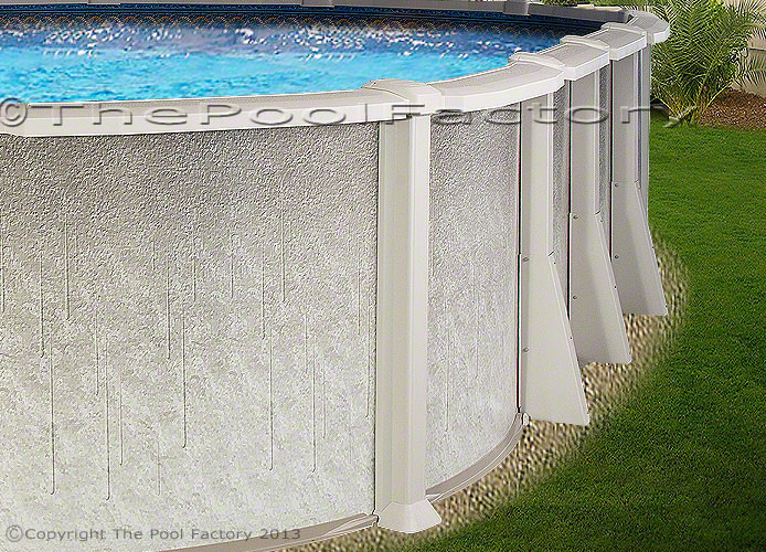 Best ideas about Saltwater Above Ground Pool . Save or Pin 18x33 Oval Saltwater 8000 Ground Salt Swimming Pool Now.