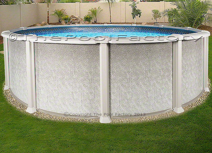 Best ideas about Saltwater Above Ground Pool . Save or Pin 18 Round Saltwater 8000 Ground Salt Swimming Pool Now.