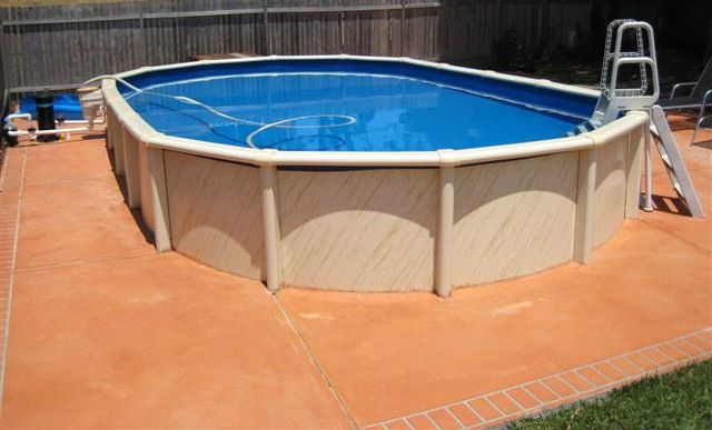 Best ideas about Saltwater Above Ground Pool . Save or Pin Oval Saltwater Resin Ground Pools Direct Pool Supplies Now.
