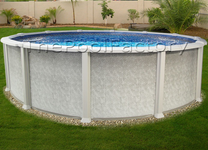 """Best ideas about Saltwater Above Ground Pool . Save or Pin 18x54"""" SALTWATER 8000 ABOVE GROUND SALT SWIMMING POOL Now."""