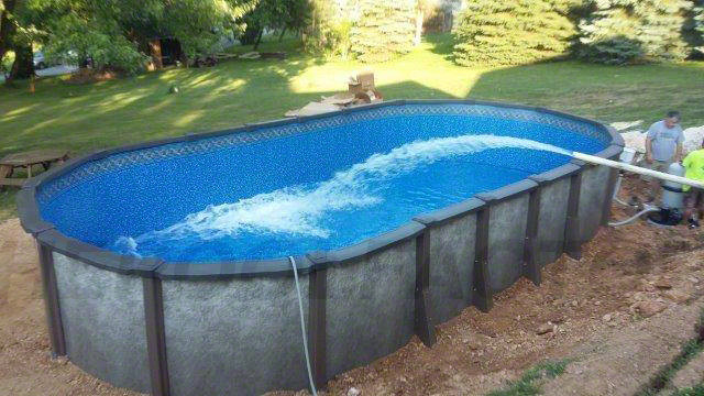 Best ideas about Saltwater Above Ground Pool . Save or Pin Saltwater LX Swimming Pool Gallery The Pool Factory Now.