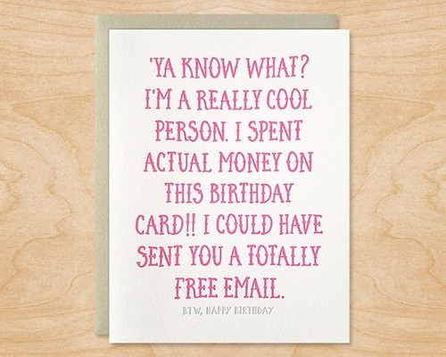 Best ideas about Sarcastic Birthday Quote . Save or Pin 35 Sarcastic Birthday Wishes with Now.