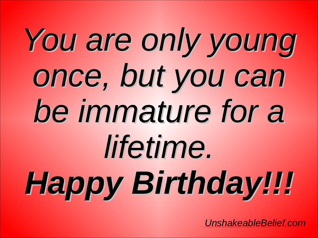 Best ideas about Sarcastic Birthday Quote . Save or Pin Sarcastic Birthday Quotes Happy QuotesGram Now.