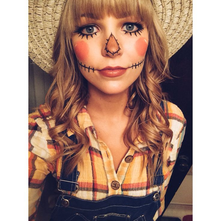 Best ideas about Scarecrow Halloween Costume DIY . Save or Pin 11 Halloween Costumes for Girls Who Are Lazy AF Now.