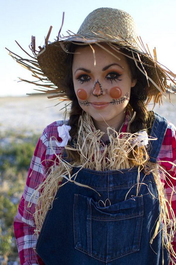 Best ideas about Scarecrow Halloween Costume DIY . Save or Pin 50 Super Cool Character Costume Ideas Hative Now.