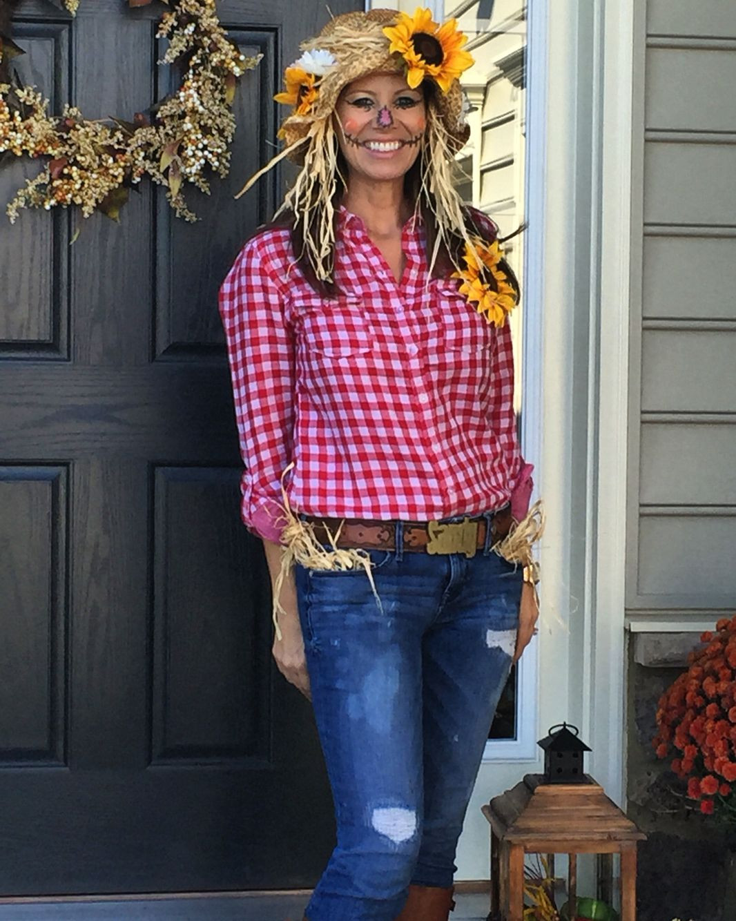 Best ideas about Scarecrow Halloween Costume DIY . Save or Pin Scarecrow costume Halloween Now.