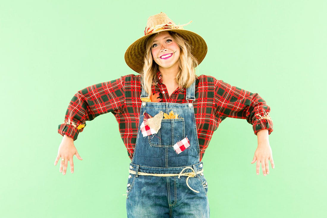 Best ideas about Scarecrow Halloween Costume DIY . Save or Pin DIY This Last Minute Scarecrow Costume With Pieces from Now.