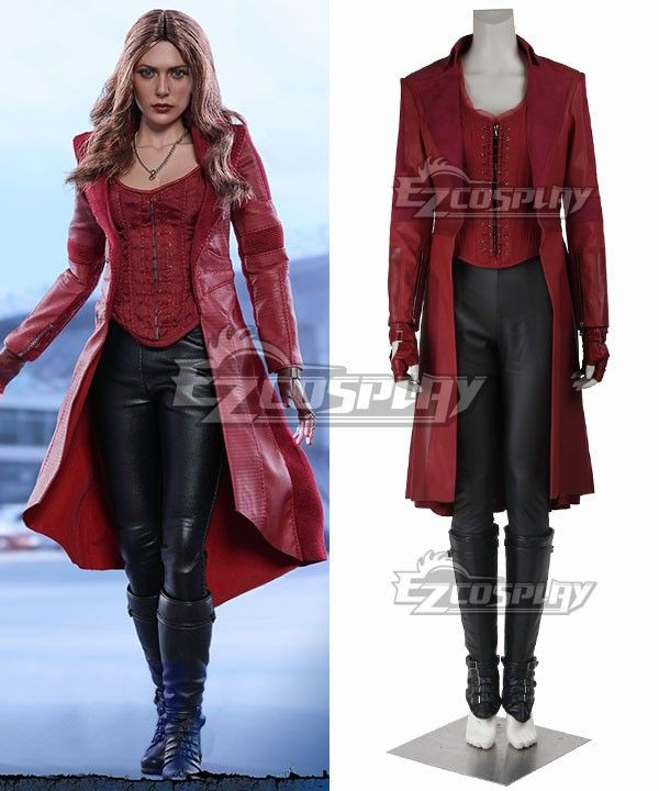 Best ideas about Scarlet Witch Costume DIY . Save or Pin Marvel Captain America Civil War Scarlet Witch Wanda Now.