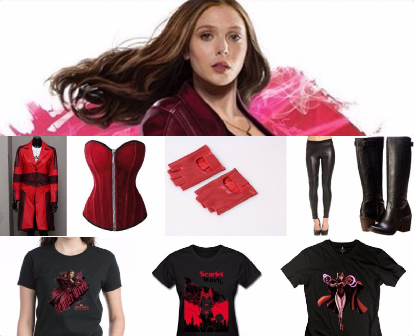 Best ideas about Scarlet Witch Costume DIY . Save or Pin Scarlet Witch Civil War Costume Guide Now.