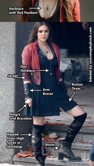 Best ideas about Scarlet Witch Costume DIY . Save or Pin 20 Witch Costumes and DIY Ideas 2017 Now.