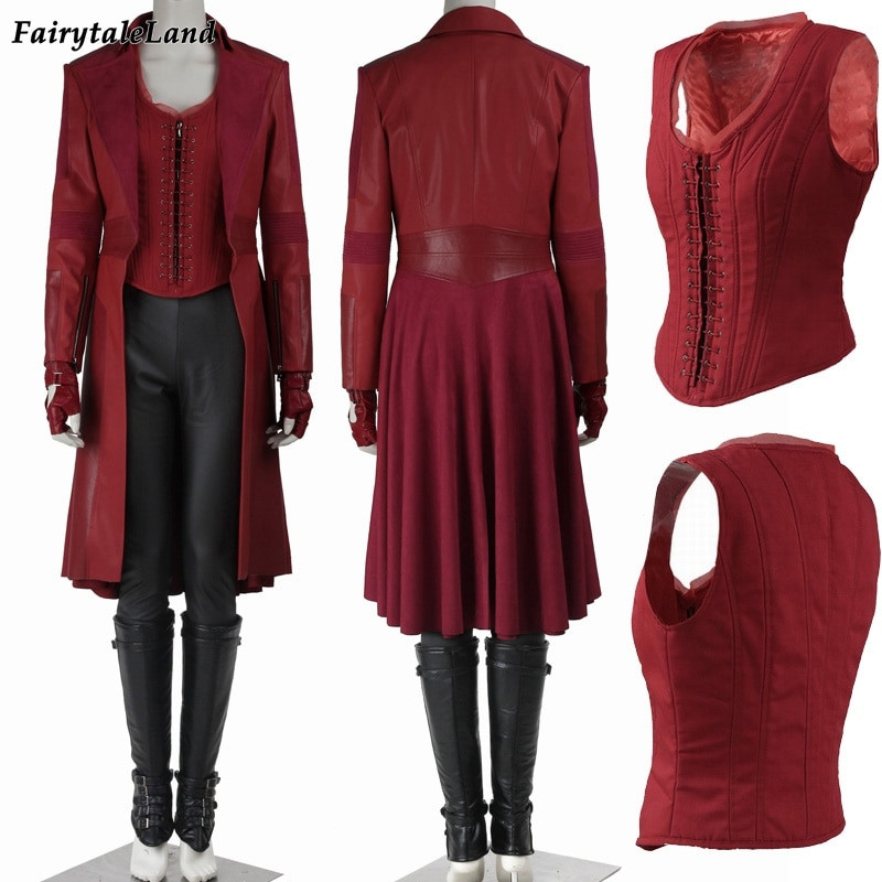 Best ideas about Scarlet Witch Costume DIY . Save or Pin Wanda Maximoff Scarlet Witch cosplay costume Captain Now.
