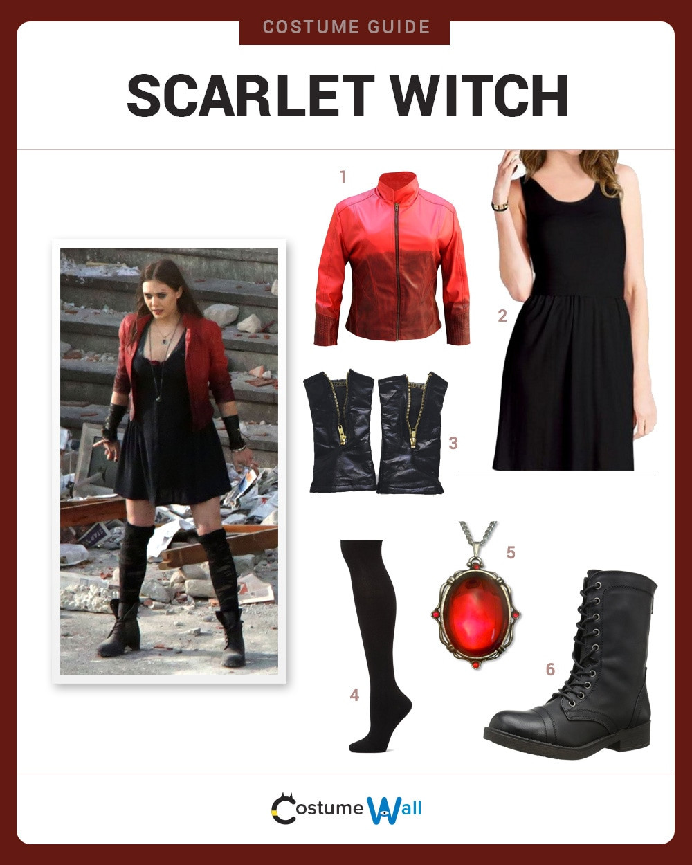 Best ideas about Scarlet Witch Costume DIY . Save or Pin Dress Like Scarlet Witch Costume DIY Outfit Now.