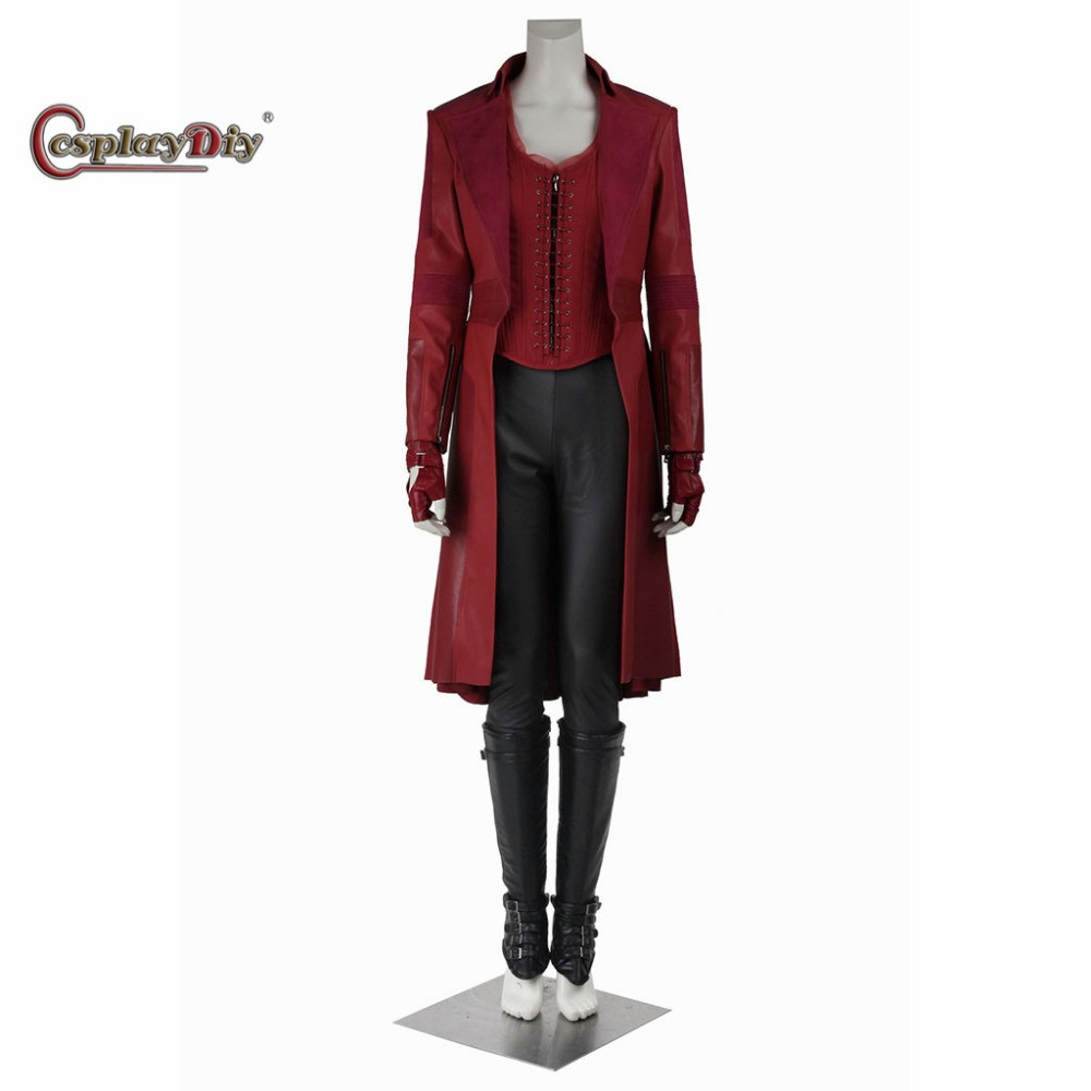 Best ideas about Scarlet Witch Costume DIY . Save or Pin Cosplaydiy Captain America 3 Civil War Scarlet Witch Now.