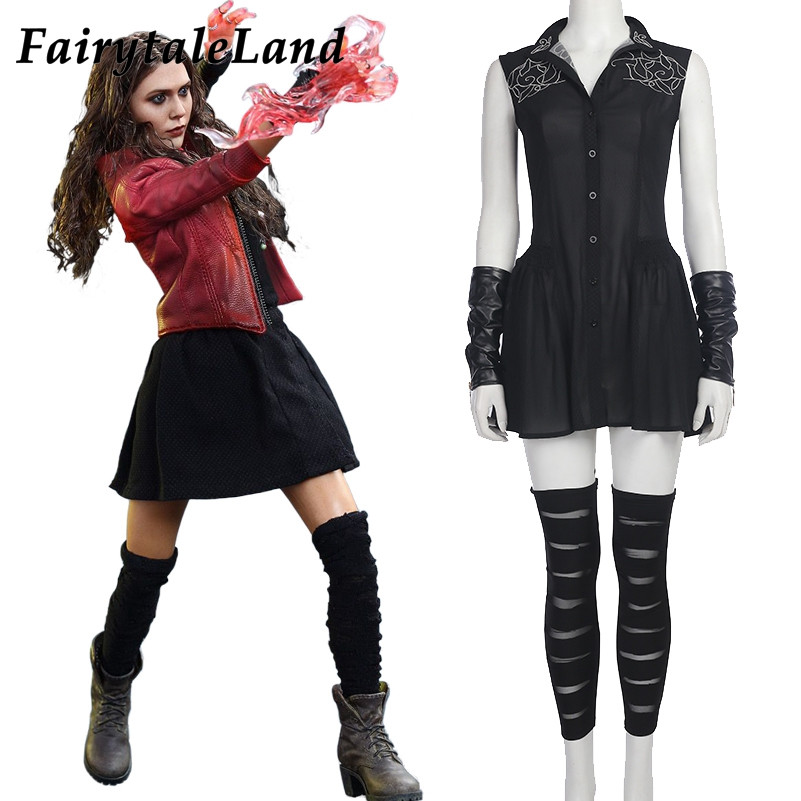 Best ideas about Scarlet Witch Costume DIY . Save or Pin Avengers Age of Ultron cosplay Wanda Maximoff Scarlet Now.