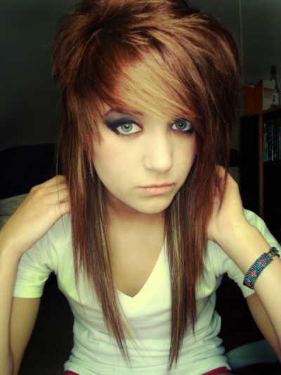 Best ideas about Scene Girls Hairstyles . Save or Pin HALAAH IO Emo Hair Styles For Girls Now.