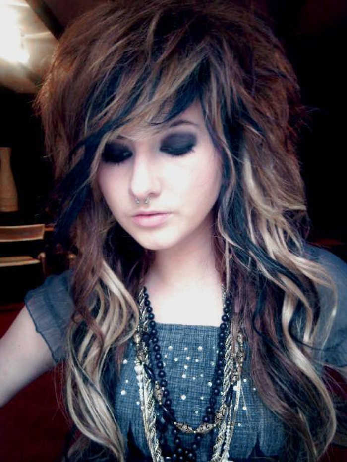 Best ideas about Scene Girls Hairstyles . Save or Pin Emo Hairstyles Now.