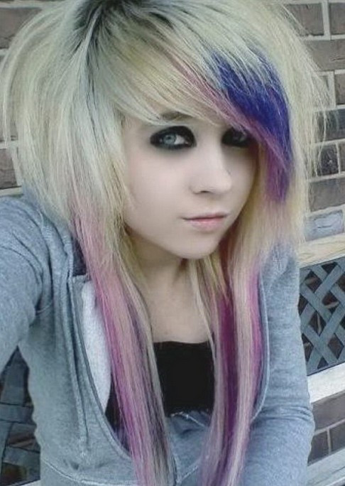 Best ideas about Scene Girls Hairstyles . Save or Pin Emo Hairstyles for Girls Latest Popular Emo Girls Now.
