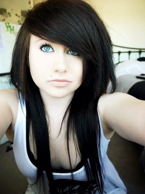 Best ideas about Scene Girls Hairstyles . Save or Pin 67 Emo Hairstyles for Girls I bet you haven t seen before Now.
