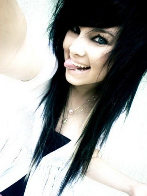 Best ideas about Scene Hairstyle Girls . Save or Pin 35 Deeply Emotional and Creative Emo Hairstyles For Girls Now.