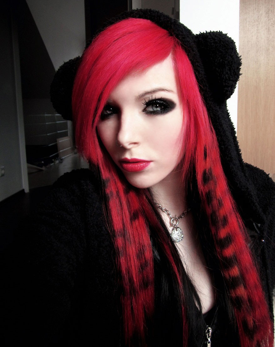 Best ideas about Scene Hairstyle Girls . Save or Pin Emo Hairstyles For Girls Get an Edgy Hairstyle to Stand Now.