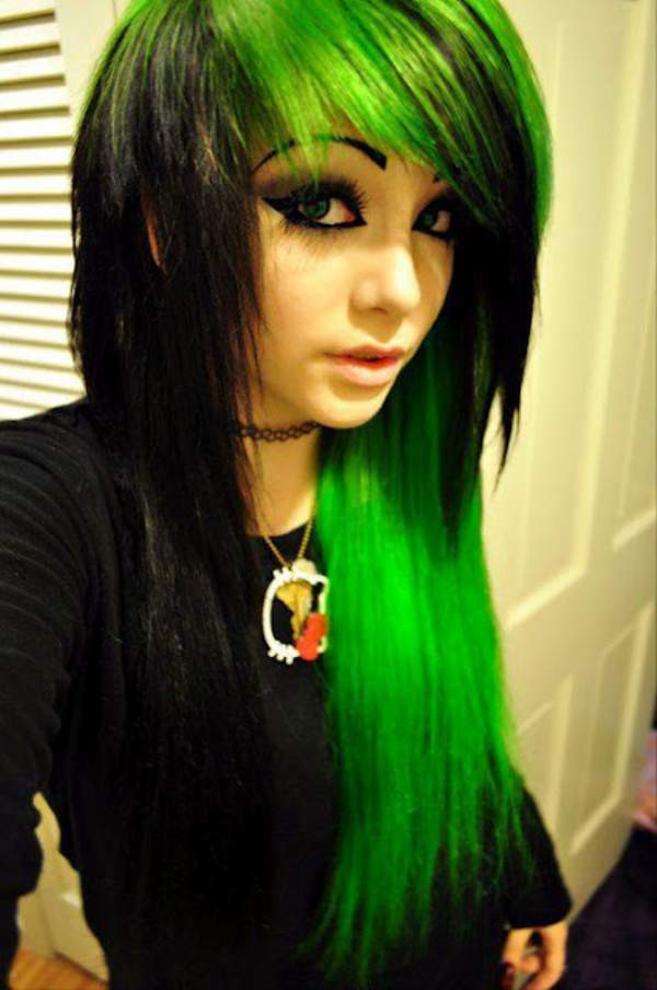 Best ideas about Scene Hairstyle Girls . Save or Pin Top Hair Style Best Emo Hairstyles For Girls 2013 Now.