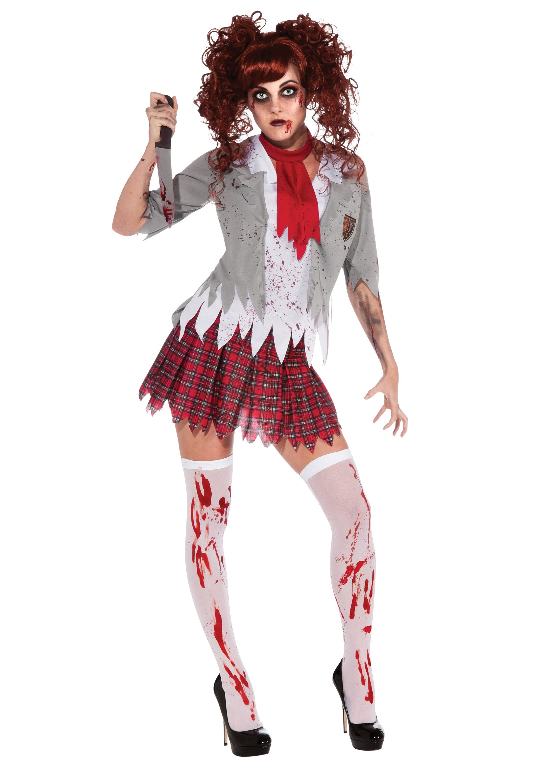 Best ideas about School Girl Halloween Costumes DIY . Save or Pin Zombie School Girl Costume Now.