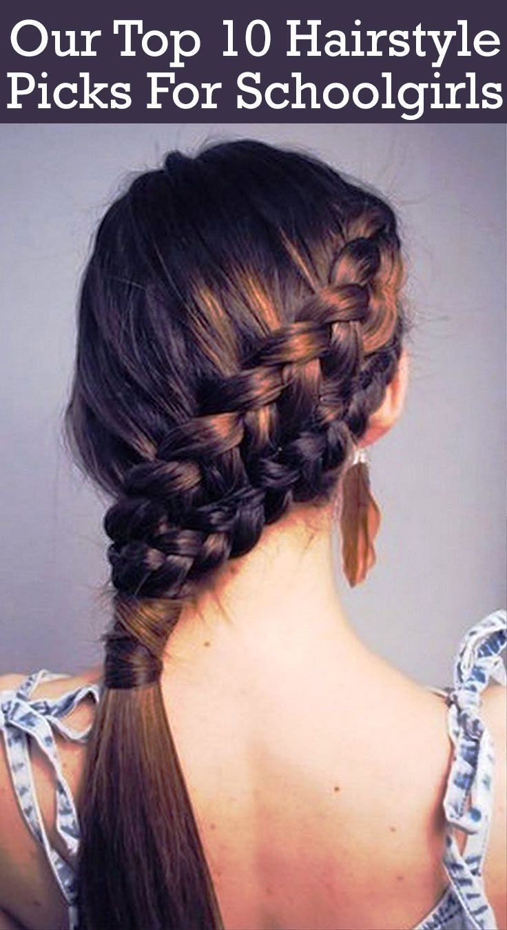 Best ideas about School Girls Hairstyle . Save or Pin 20 Adorable Hairstyles For School Girls Now.
