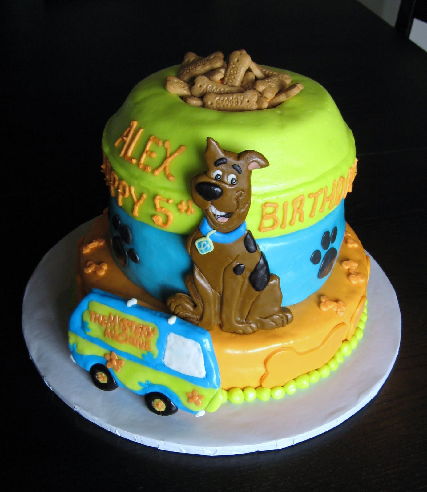 20 Of The Best Ideas For Scooby Doo Birthday Cake