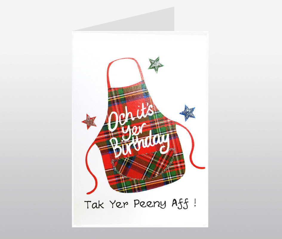 Best ideas about Scottish Birthday Wishes . Save or Pin Scottish Birthday Card Peeny WWBI61 Now.