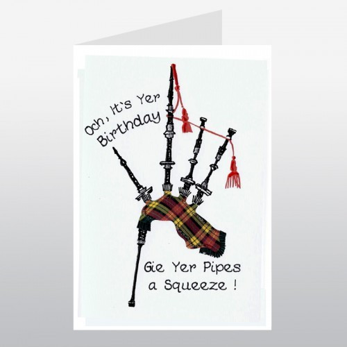 Best ideas about Scottish Birthday Wishes . Save or Pin Happy Birthday Bagpipes Scottish Birthday Card Now.