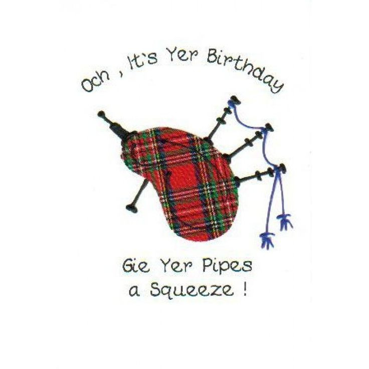 Best ideas about Scottish Birthday Wishes . Save or Pin a very scottish birthday greeting for a wee lassie have Now.