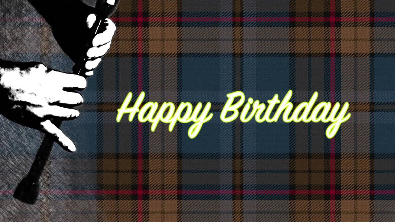 Best ideas about Scottish Birthday Wishes . Save or Pin Happy Birthday greeting card scottish art Now.