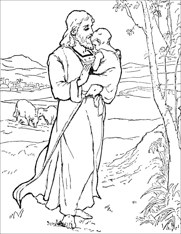 Best ideas about Scripture Coloring Sheets For Kids Free . Save or Pin Free Printable Bible Coloring Pages For Kids Now.