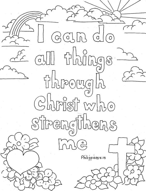 Best ideas about Scripture Coloring Sheets For Kids Free . Save or Pin Free Printable Christian Coloring Pages for Kids Best Now.