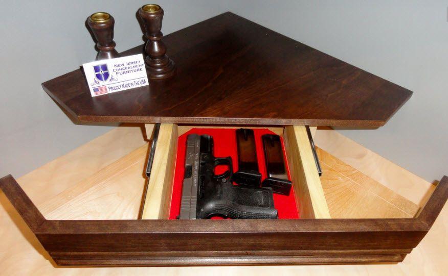 Best ideas about Secret Compartment Furniture DIY . Save or Pin Secret partment Gun Shelf by NJ Concealment Furniture Now.