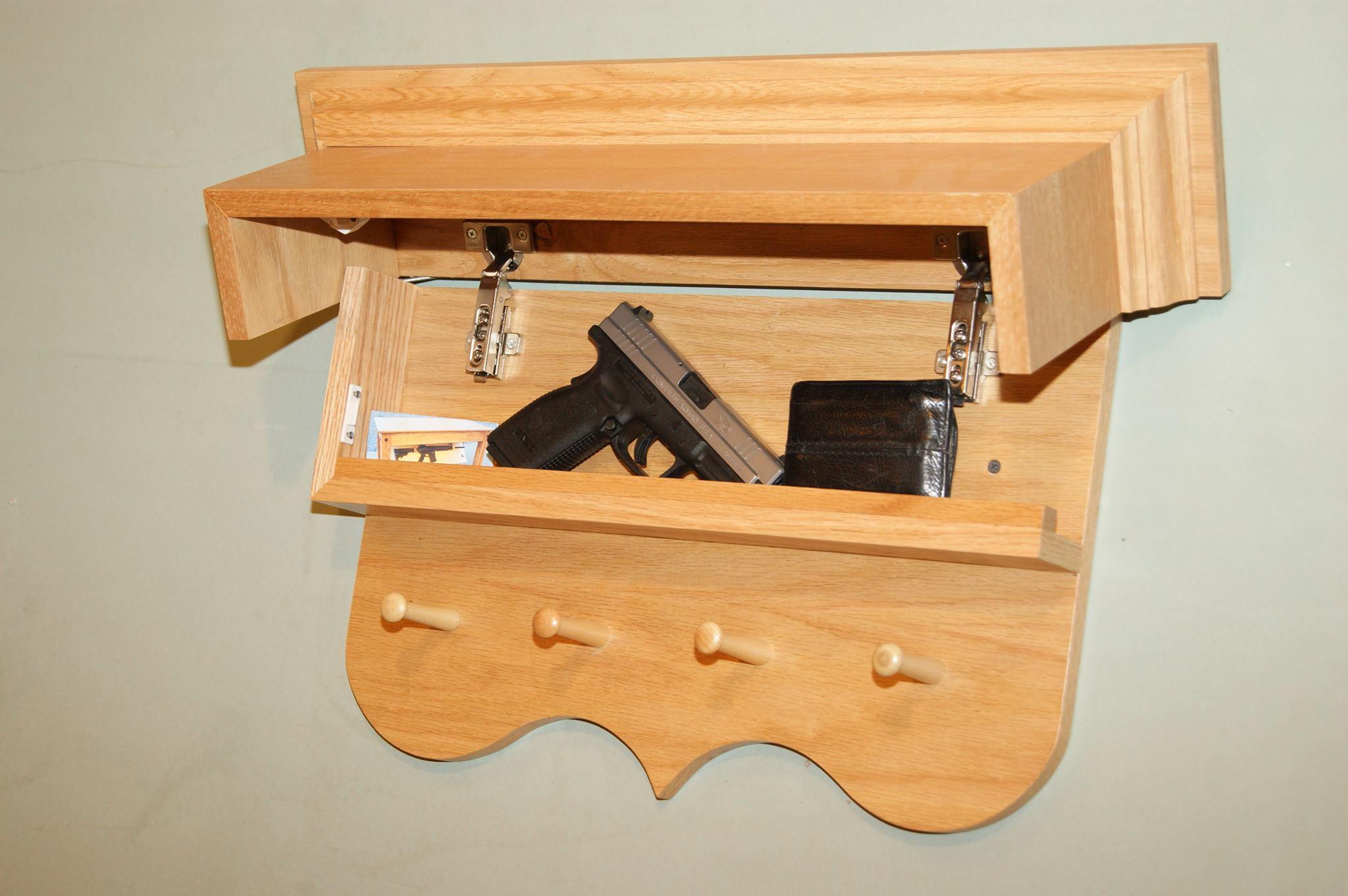 Best ideas about Secret Compartment Furniture DIY . Save or Pin Secret partment in Coat Rack Now.