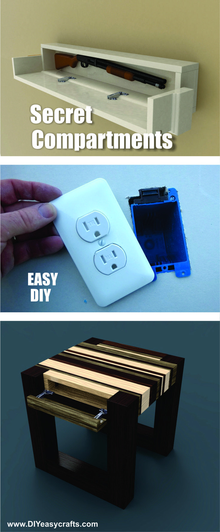Best ideas about Secret Compartment Furniture DIY . Save or Pin 1000 ideas about Hidden partments on Pinterest Now.
