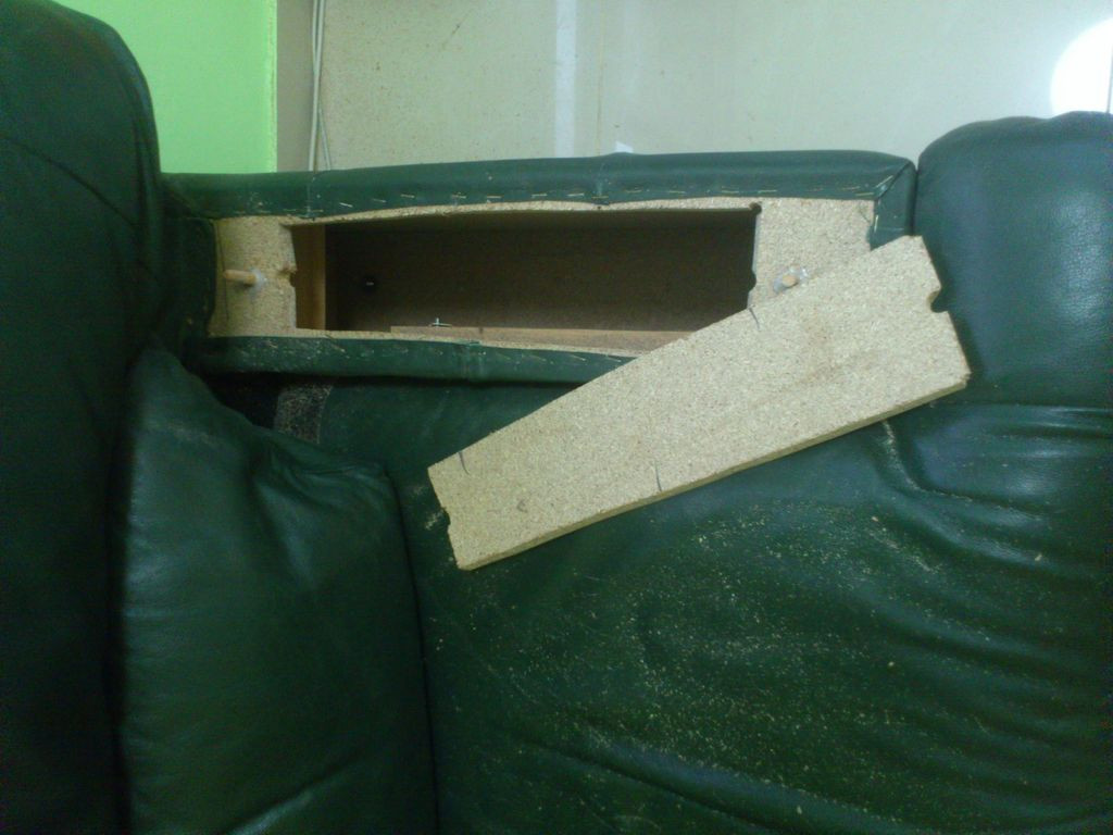 Best ideas about Secret Compartment Furniture DIY . Save or Pin Secret Stash partment in Chair Arm Now.