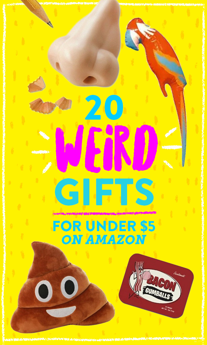 Best ideas about Secret Santa Gift Ideas Under $5 . Save or Pin 20 bizarre ts under $5 on Amazon Now.