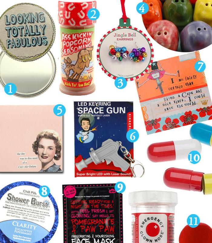 Best ideas about Secret Santa Gift Ideas Under $5 . Save or Pin Secret Santa Gifts Now.