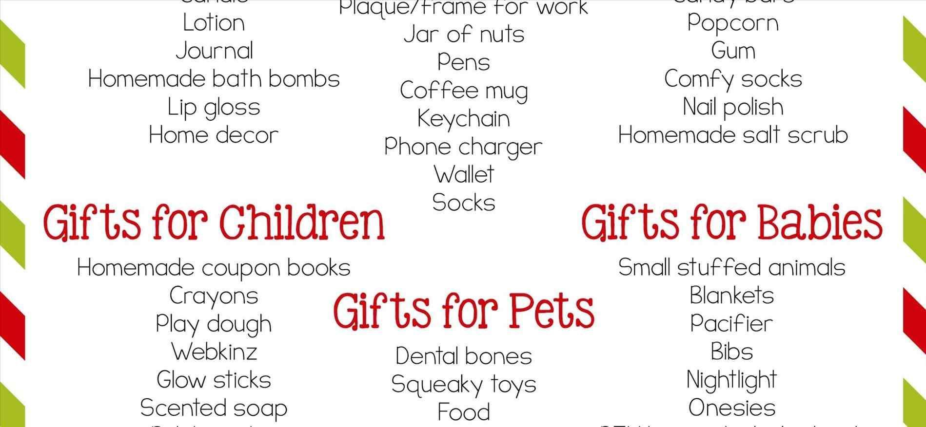 Best ideas about Secret Santa Gift Ideas Under $5 . Save or Pin Secret Santa Gift Ideas Under $5 Now.