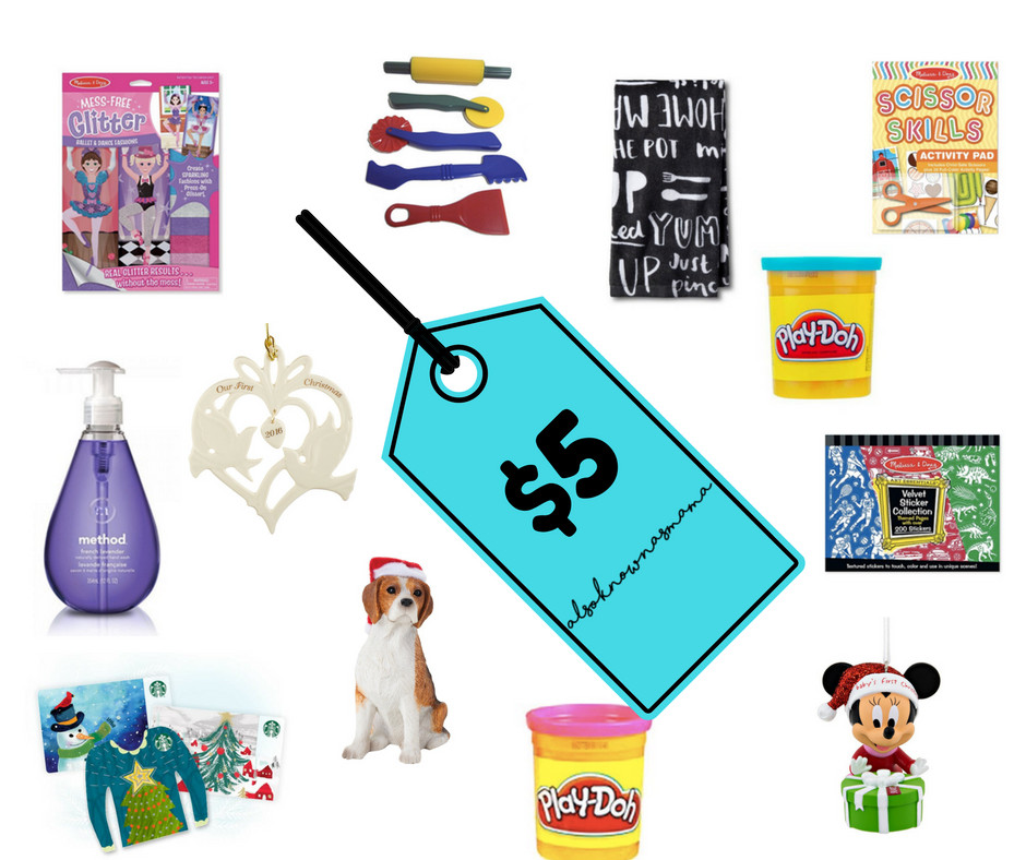 Best ideas about Secret Santa Gift Ideas Under $5 . Save or Pin 5 Thoughtful Gifts Under $5 for Kids Adults also known Now.