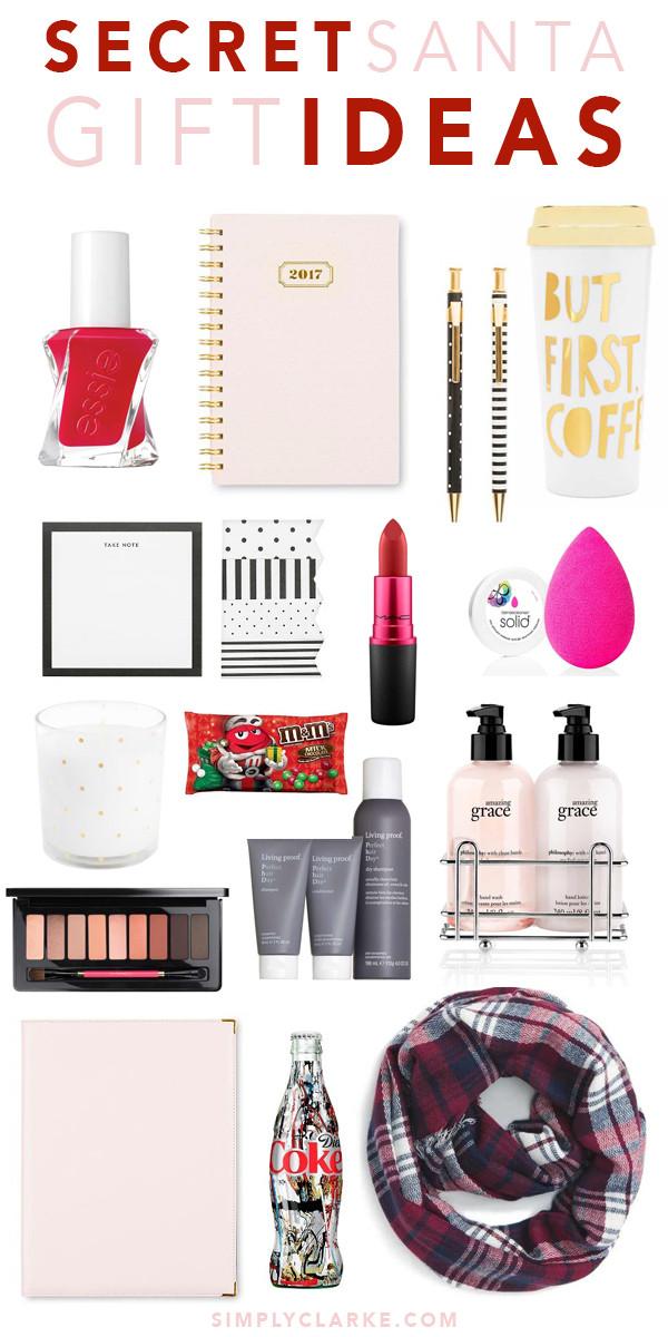 Best ideas about Secret Santa Gift Ideas Under $5 . Save or Pin Secret Santa Gift Ideas Simply Clarke Now.