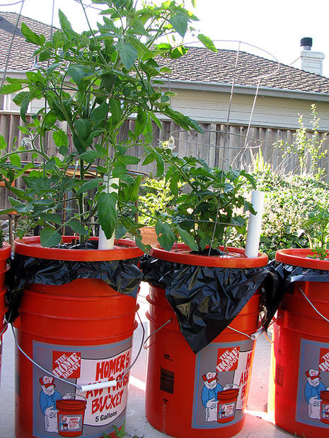Best ideas about Self Watering Pots DIY . Save or Pin The Dearthbox A low cost self watering planter Now.