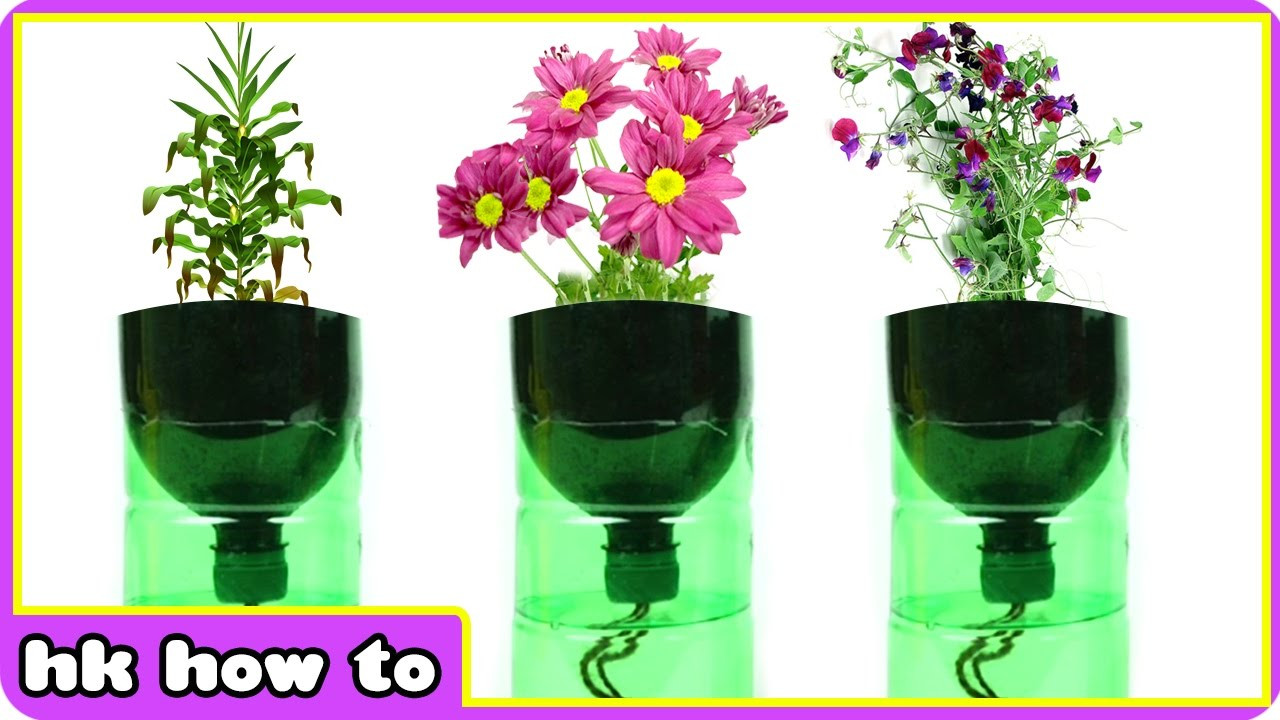 Best ideas about Self Watering Pots DIY . Save or Pin EASIEST How to make Self Watering Planters DIY Videos for Now.