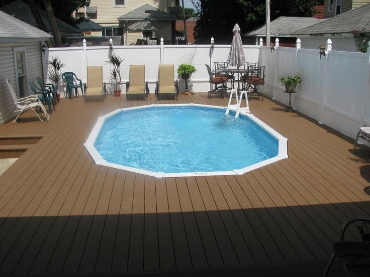 Best ideas about Semi Inground Pools With Deck . Save or Pin Best 25 Semi inground pools ideas on Pinterest Now.