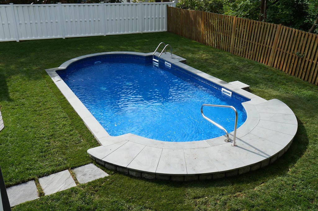 Best ideas about Semi Inground Pools With Deck . Save or Pin Ideas and Benefits of a Semi Inground Pool Now.